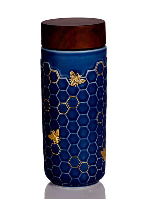 Honey-Bee-Tumbler-Peacock-Green
