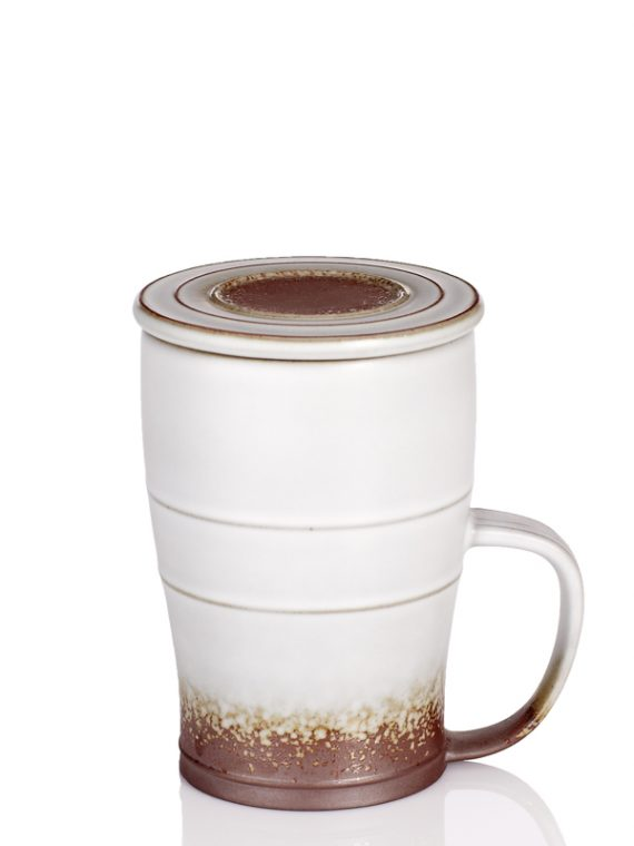 Past-Time-Tall-Mug-Oil-spot-White-Glaze